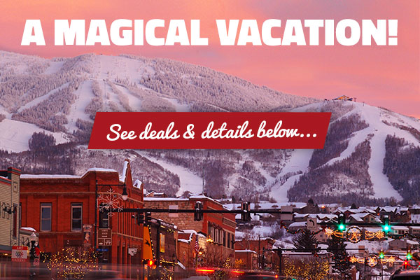 Save on a magical vacation to Steamboat Springs