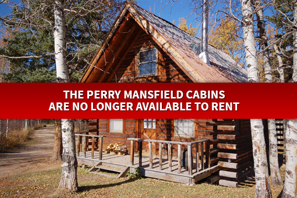 Perry mansfield cabins steamboat springs vacation rental for Cabin rentals near steamboat springs