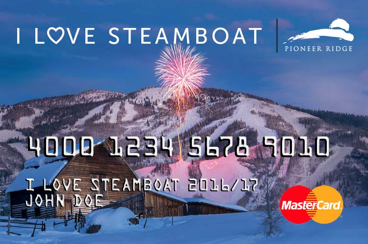 I LOVE Steamboat Gift Card Details