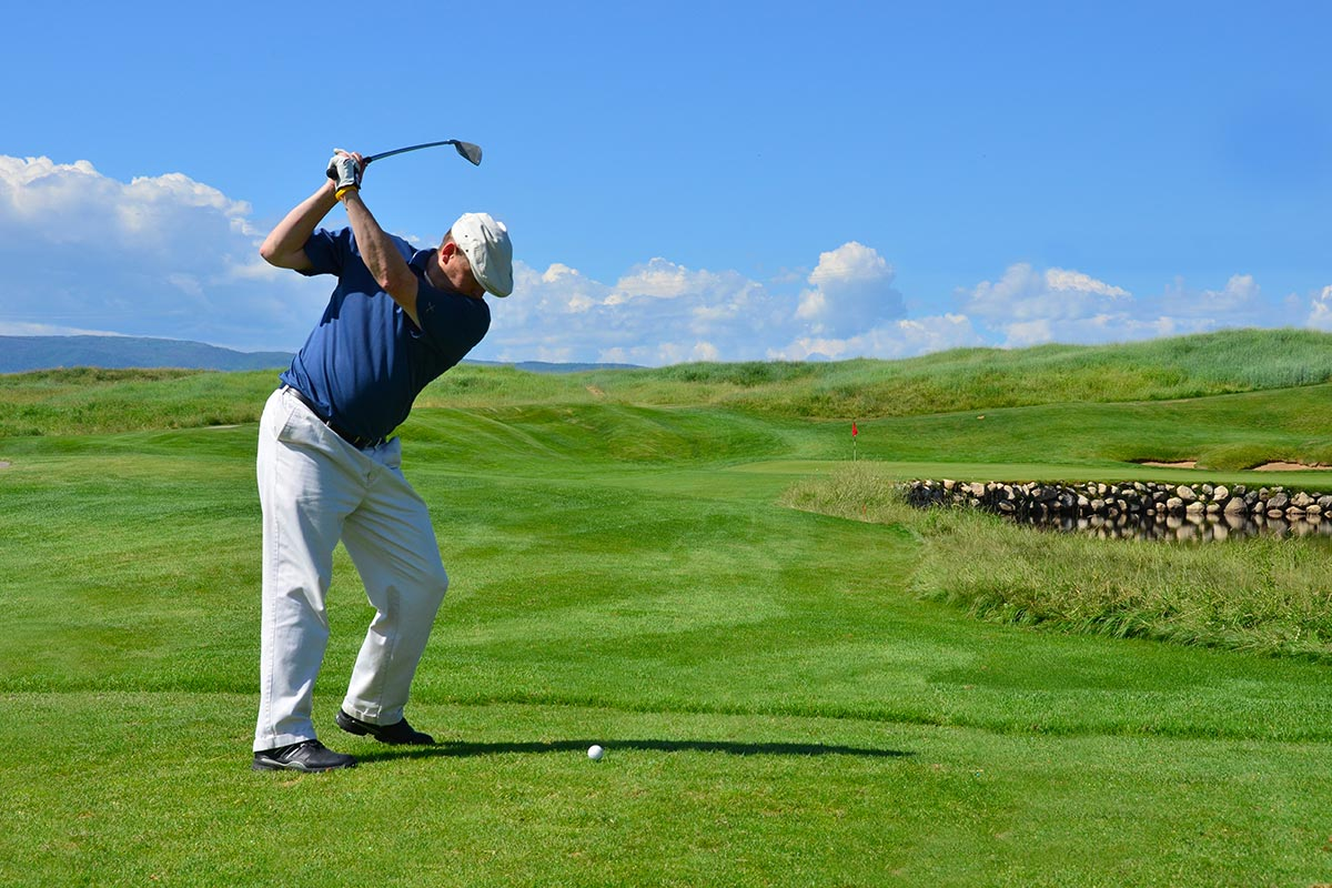 Golfing in Steamboat Springs, Colorado