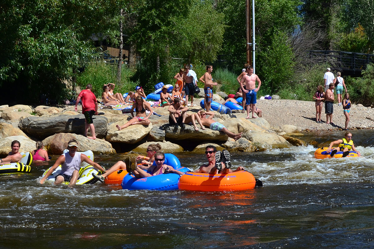 Tubing the Yampa