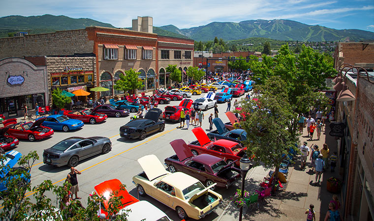 Rocky Mountain Mustang Roundup Steamboat Springs Summer