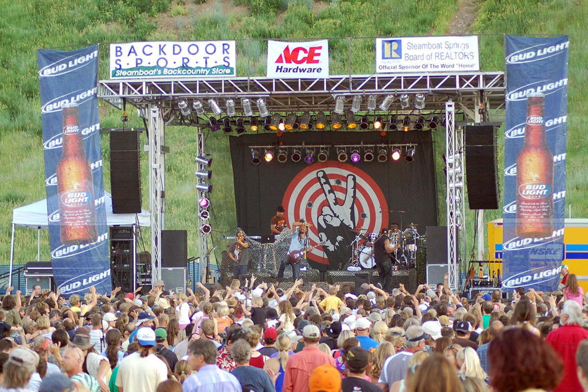 Steamboat Springs FREE Summer Concert Series