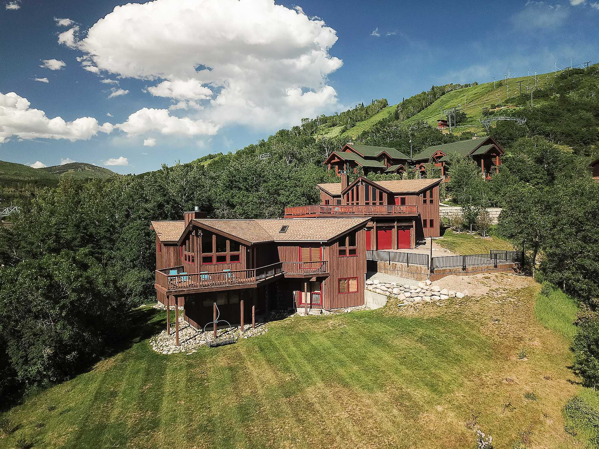 Ski trail lodge i steamboat springs vacation rental for Cabins in steamboat springs