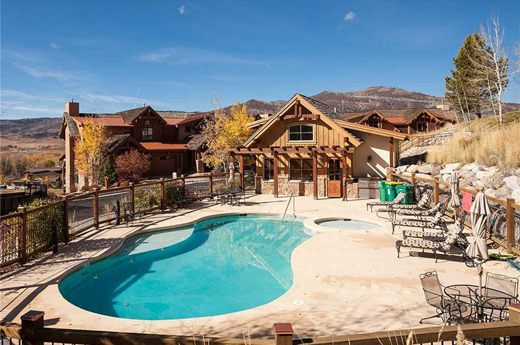 Chadwick estate villas steamboat springs vacation rental for Steamboat springs cabins for rent